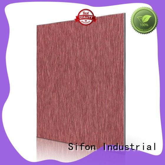brushed acm panel extrusions at discount for city road AULAND
