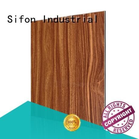 panel harga aluminium composite panel arabescato for industrial buildings AULAND