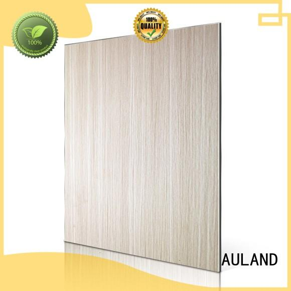 picture patten aluminum composite panel fire rating character wall AULAND Brand