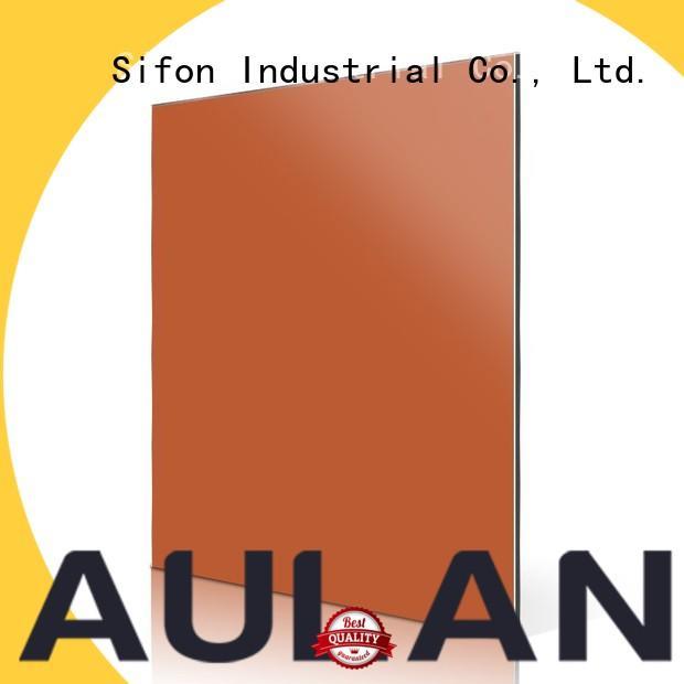 AULAND good quality acm aluminum composite panel factory price for concrete production