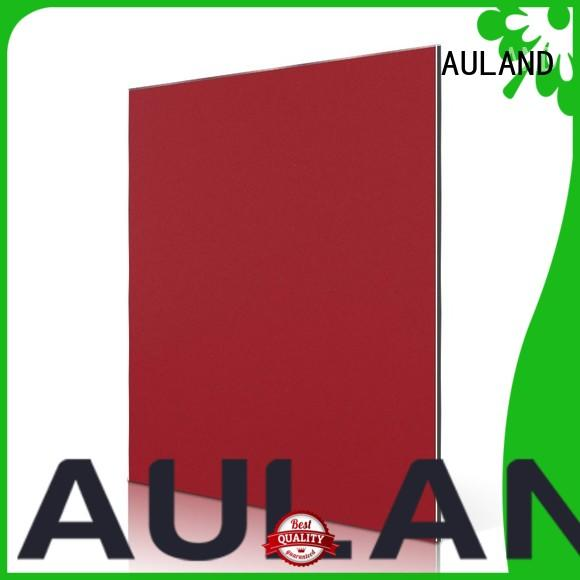AULAND white acp panel cost factory price for tower