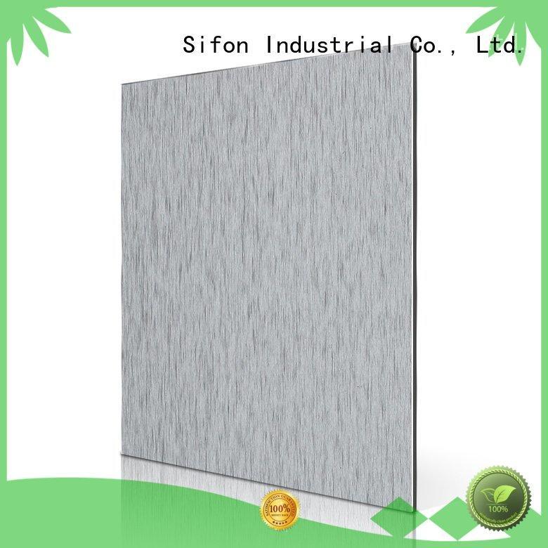 aluminium acp composite price Sifon aluminium composite panel singapore