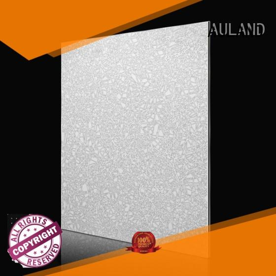 AULAND shape acp aluminium composite panel price at discount for railway tunnels
