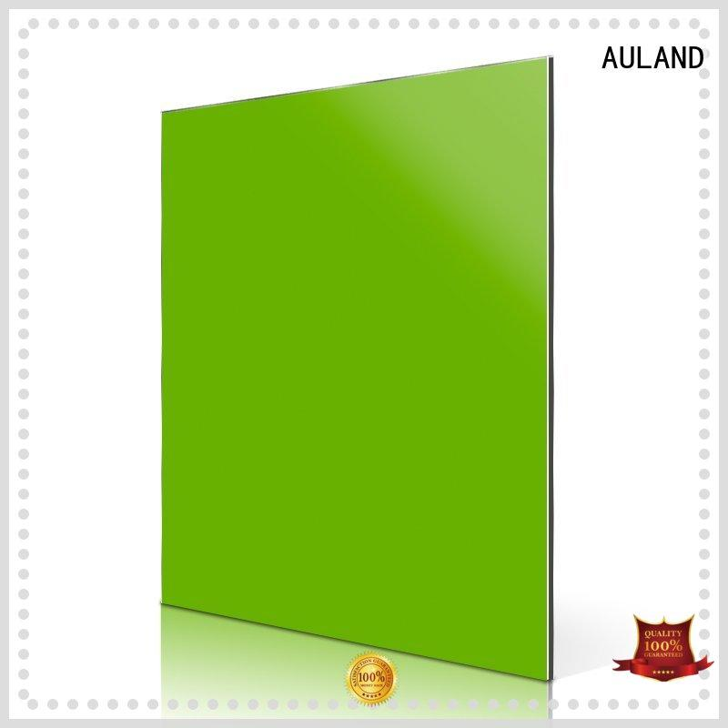 AULAND professional aluminium composite panel fabrication price for construction site