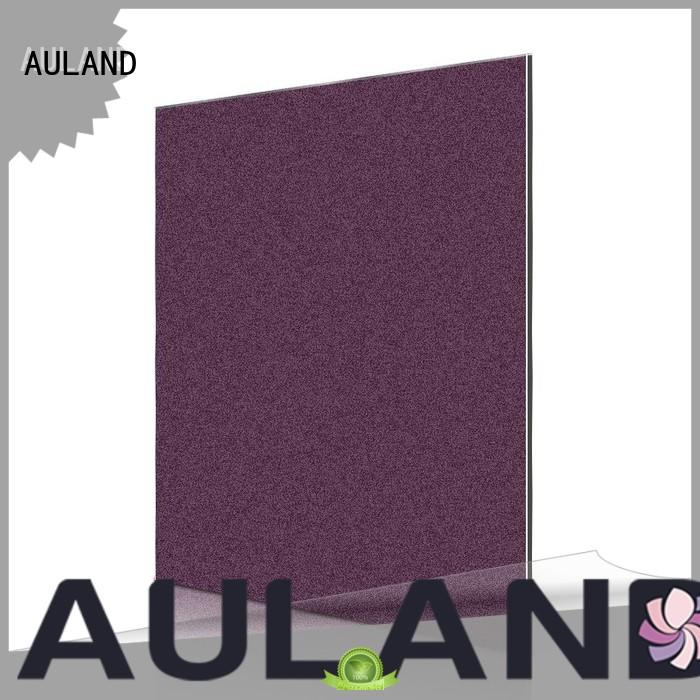 AULAND pearl insulated acm panel Customizable Electrical application for school