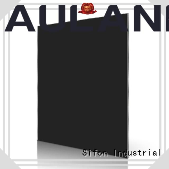 AULAND unique design acp panel fixing supplier for industrial buildings