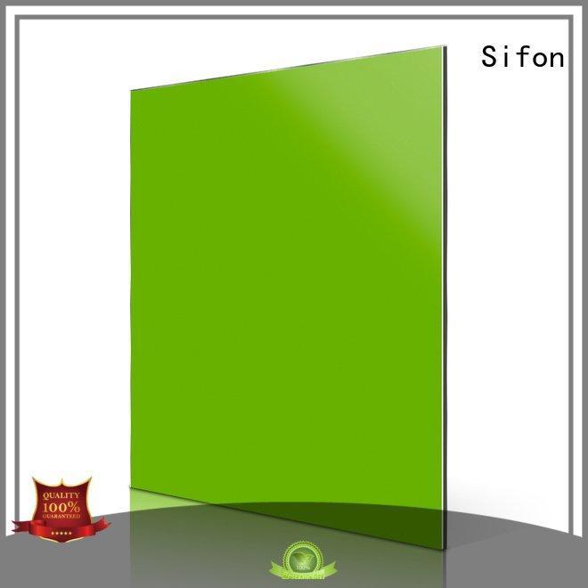 Sifon Brand panels aluminium composite panel fixing light sheet