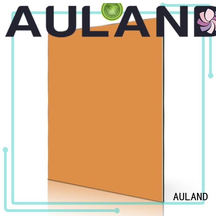 AULAND Brand sheet acp aluminium composite panel specification telecom