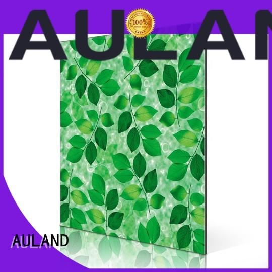 AULAND panel aluminum composite panel for sale supplier for industrial buildings