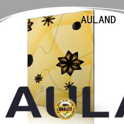 AULAND sf4401fg aluminum composite sheet suppliers promotion for buildings