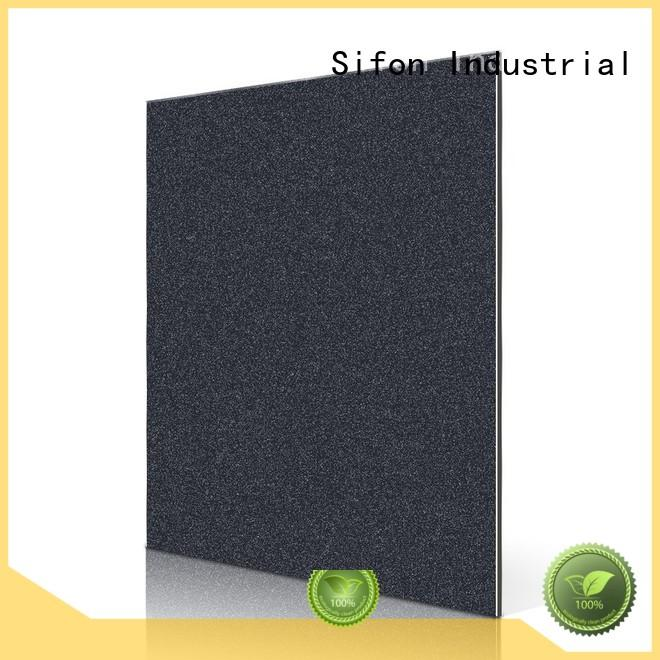 pearly silver black metallic aluminium composite panel price in bangladesh AULAND Brand