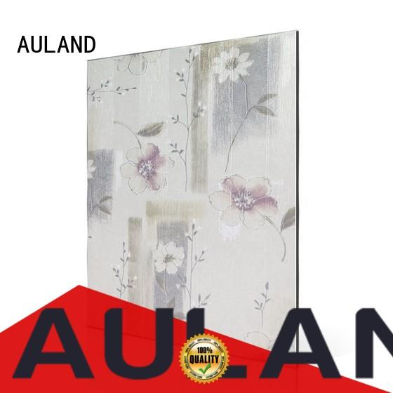 AULAND wholesale products aluminium composite material of very good quality for factory buildings