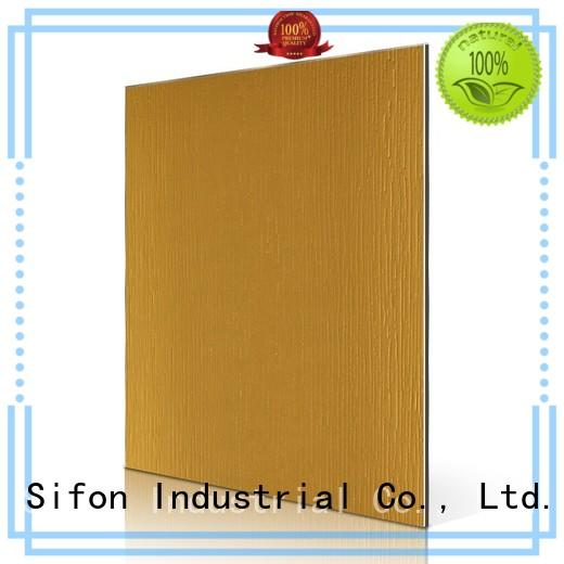 Quality AULAND Brand acp panel interior design granular