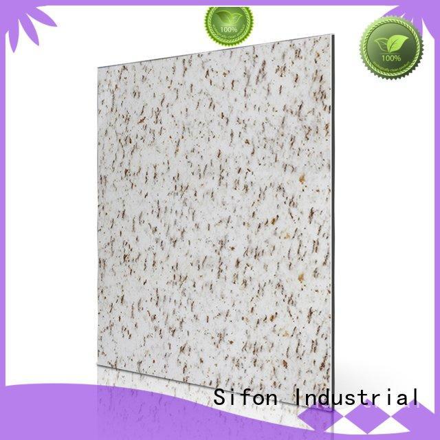 aluminium composite panel price list acm white aluminium composite panel Sifon Brand