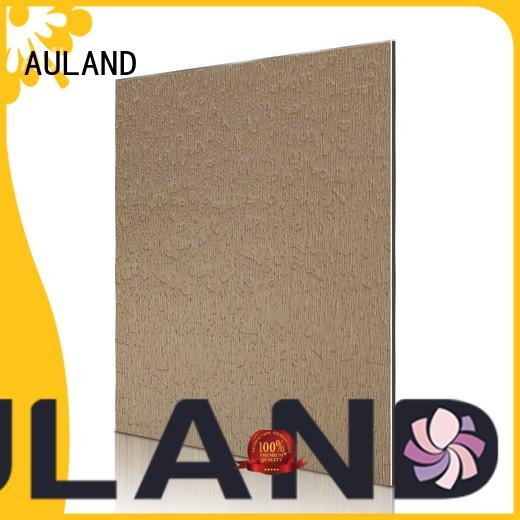 AULAND professional acp aluminium composite panel higher efficiency for daily life