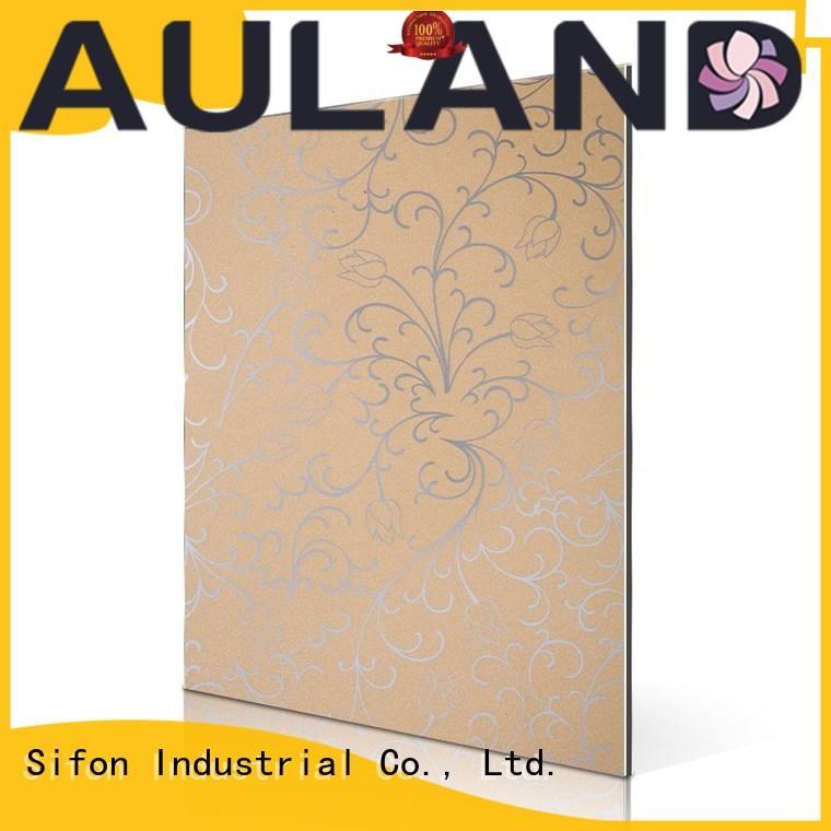 AULAND 5052 Aluminum plate Flat acm panel fabrication buy wholesale for kitchen