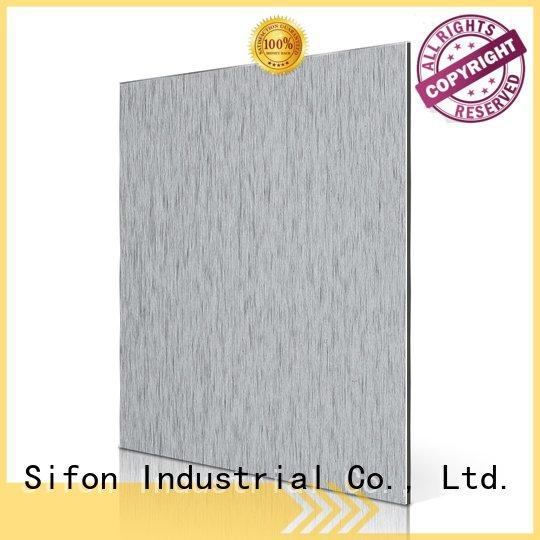 Sifon panel brush acm panel price nz cladding silver