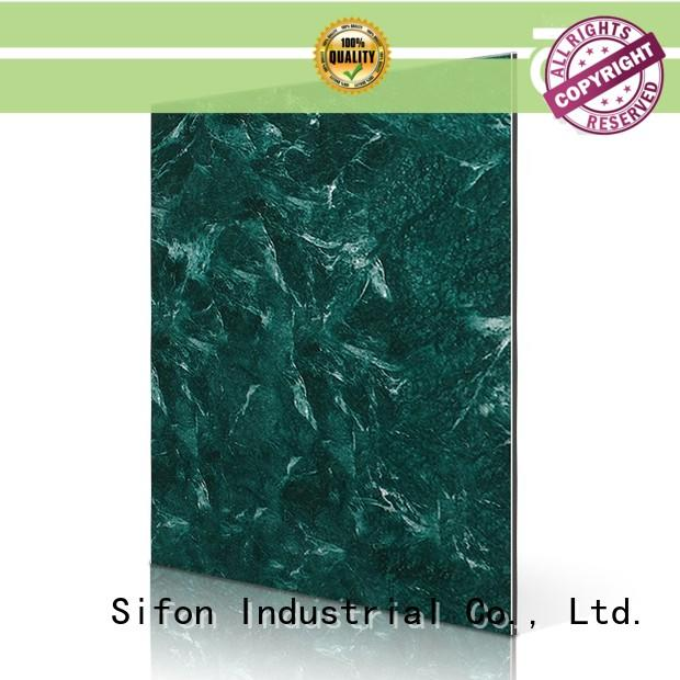 SF414-SCFE Cladding FEVE Verde Alpi acm aluminum composite material
