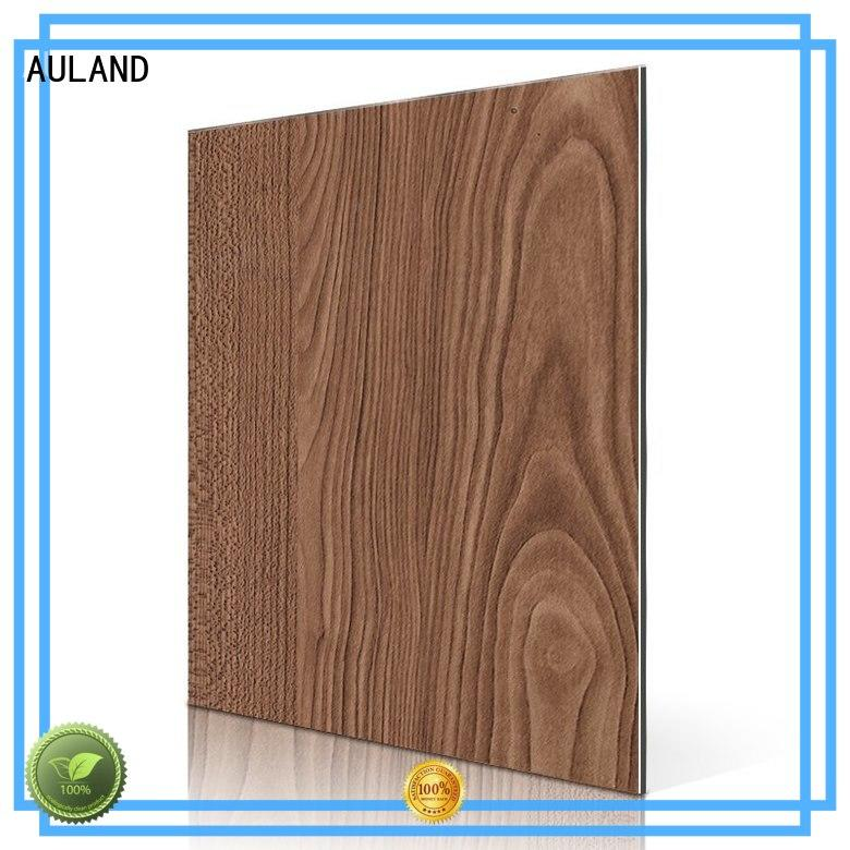 AULAND good quality aluminium composite panel cost sf506w promotion