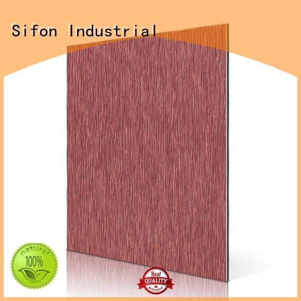 aluminium composite panel singapore brushed cladding acm panel price nz