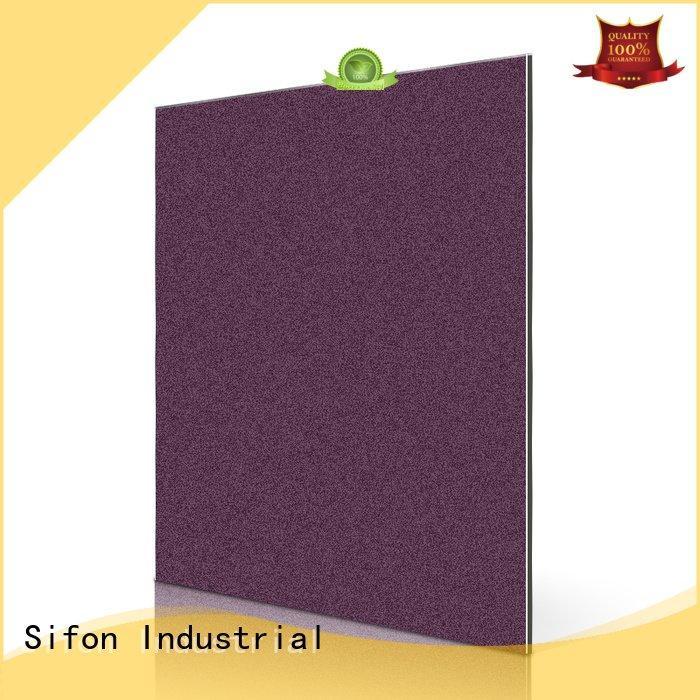metallic wide lotus aluminum Sifon 3mm acm panel