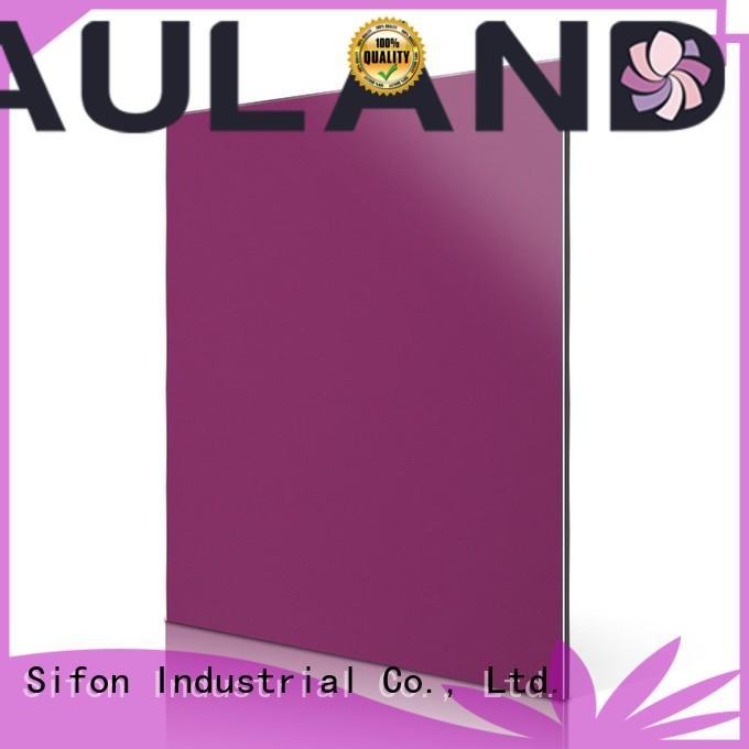 aluminum light panel AULAND Brand acm aluminum composite panel supplier