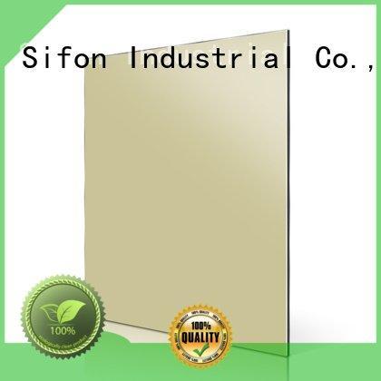 Sifon orange acm aluminum composite panel panel acm