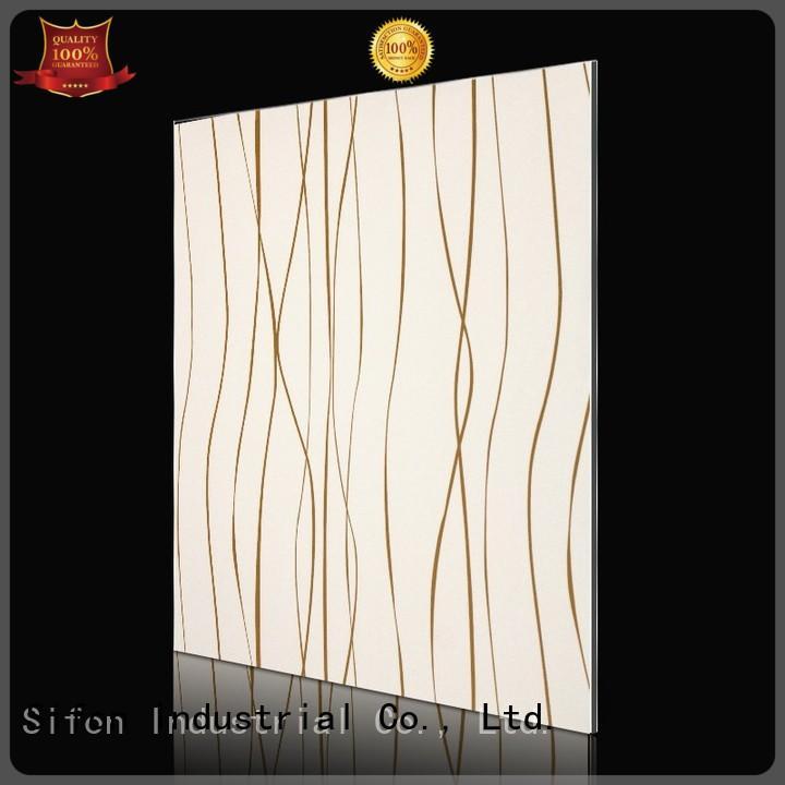 Hot matte acm composite panel flower designs AULAND Brand