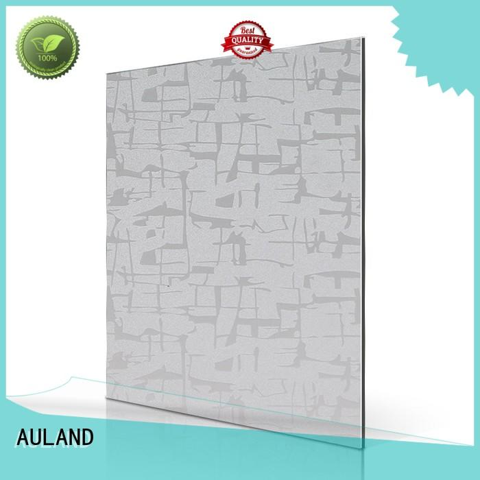 Quality AULAND Brand aluminum composite panel fire rating small wall
