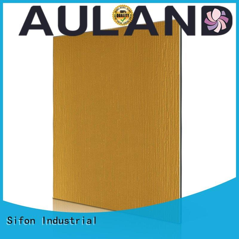 AULAND professional acp sheet price stronger for school
