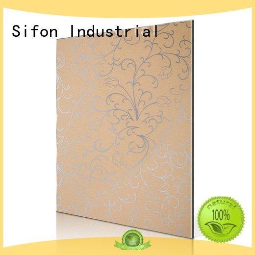 gold lotus acm 3mm acm panel Sifon