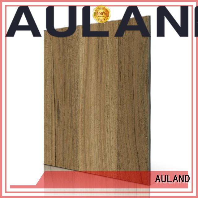 aluminium composite panel rate matt 3d acp sheet dark AULAND Brand