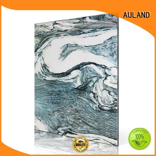 AULAND verde acp panel price manufacturer for roads