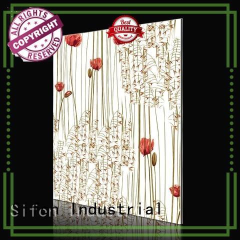Quality AULAND Brand blossom design aluminium composite sheet price
