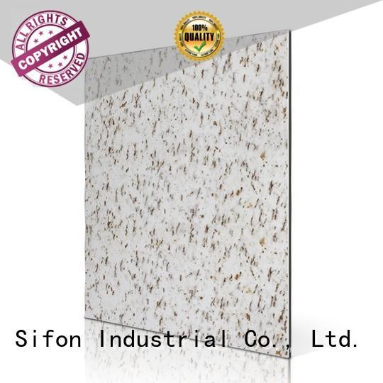 composite panel purple acp aluminium composite panel AULAND Brand