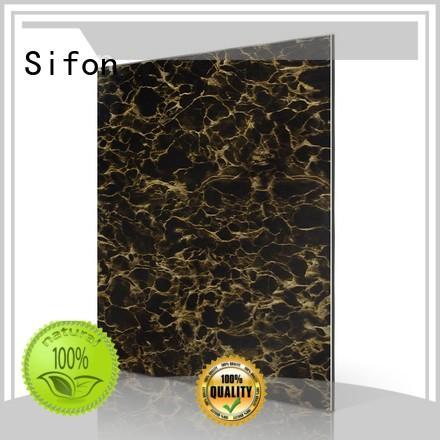 aluminium composite panel sign board arabescato panel aluminium Sifon Brand company