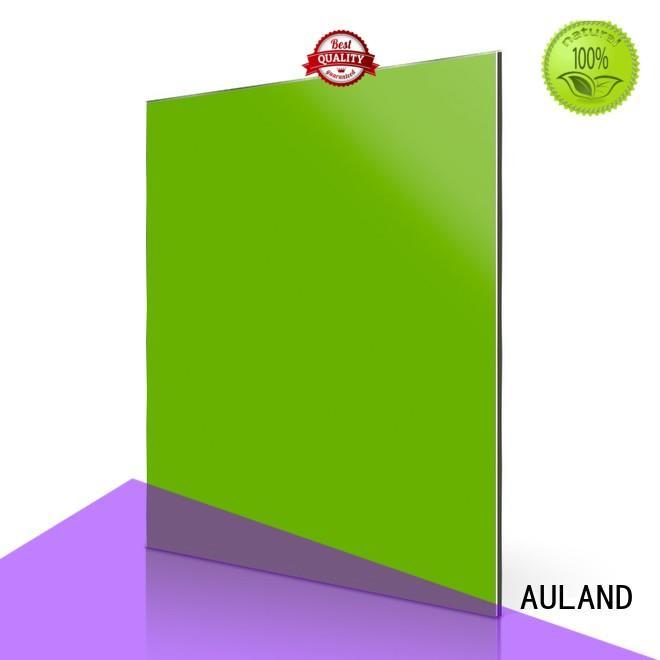 acm price panels acm aluminum composite panel green AULAND