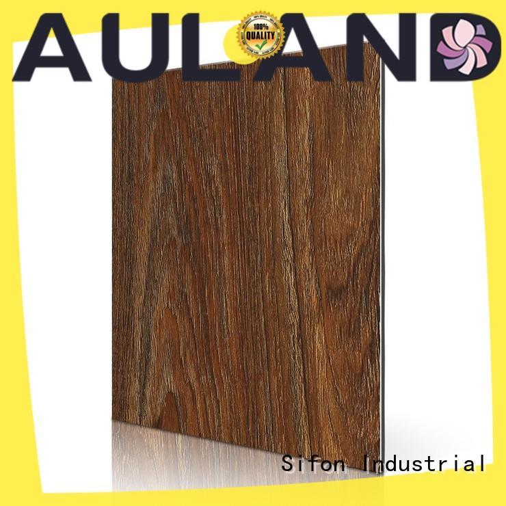 AULAND pine acp sheet supplier environmental protection