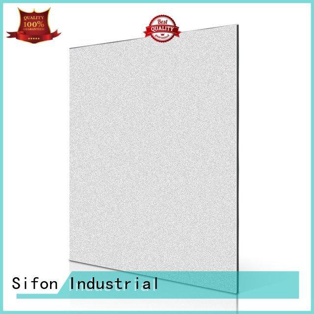 Sifon Brand black champagne acp panels india silver metal