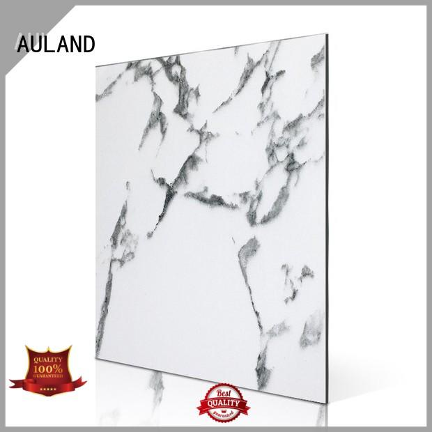 AULAND professional acp diamond plate wall panel higher efficiency for school