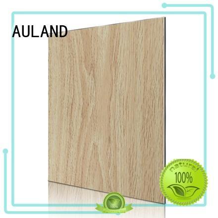 Hot water acp sheet acm wood AULAND Brand
