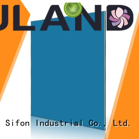 AULAND sign acp panel colours on sale for factory buildings