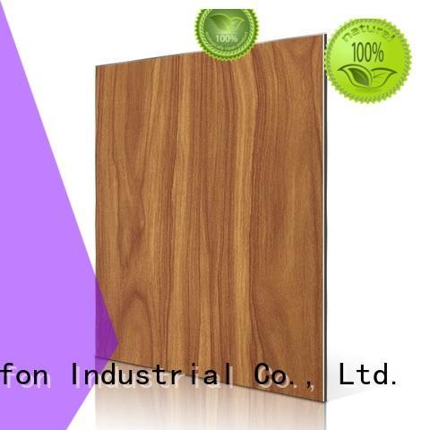 dark material acp aluminium sheet purple Sifon Brand company