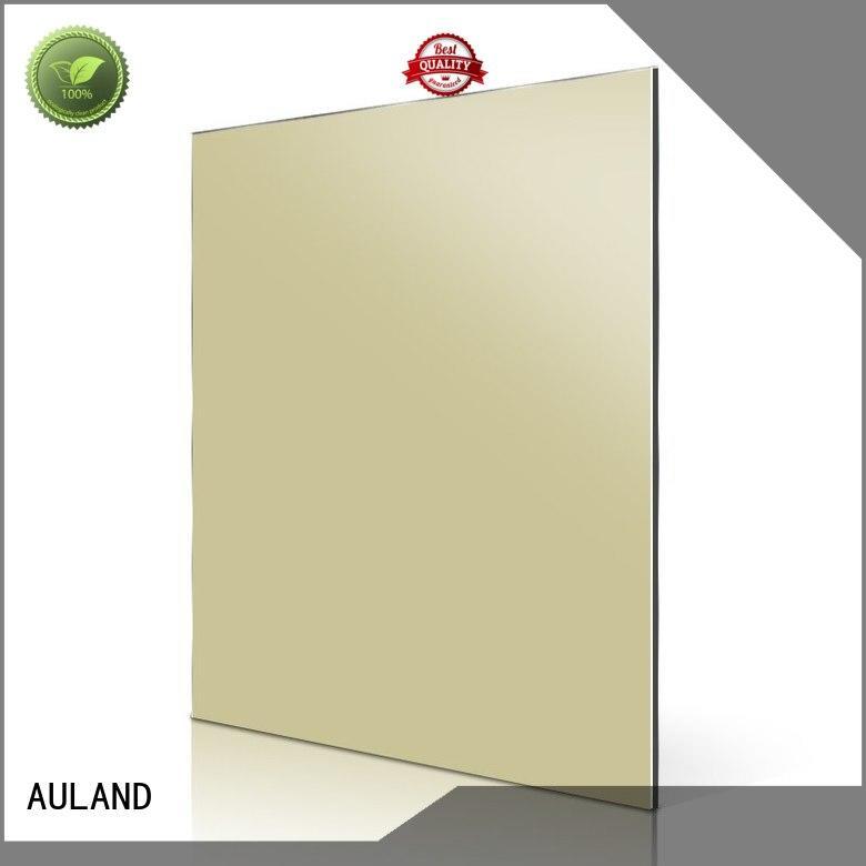 red acm aluminum composite panel price AULAND company