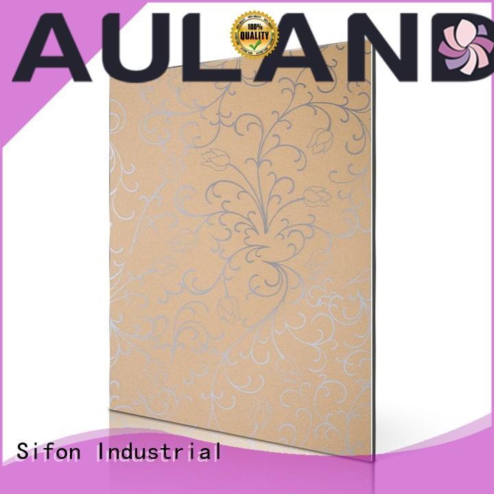 aluminium composite panel price in bangladesh acm 3mm acm panel AULAND Brand