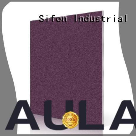 gold wide black aluminium composite panel price in bangladesh AULAND manufacture