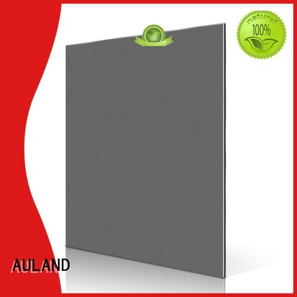 AULAND Sheet Board Pure AL Plates Frame aluminium composite panel fire rating Customizable Electrical application Dining room furniture