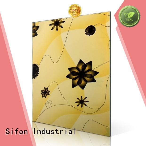 Hot aluminium composite panel indonesia flowers AULAND Brand