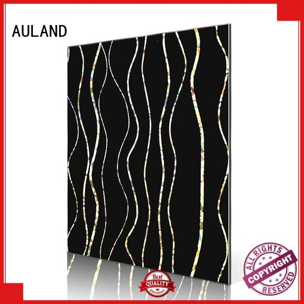 AULAND black aluminium composite sheet buy wholesale online for industrial buildings