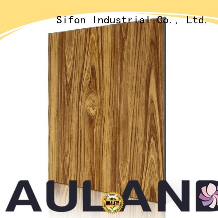 AULAND Brand yellow dark aluminium composite panel china arabescato